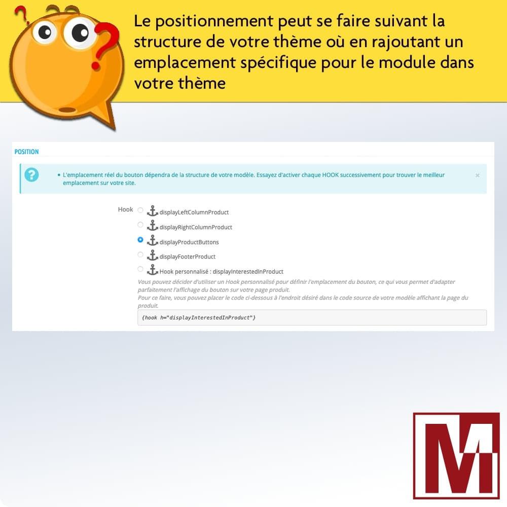 module - Formulaires de Contact & Sondages - Formulaire de contact dynamique sur page produit - 4