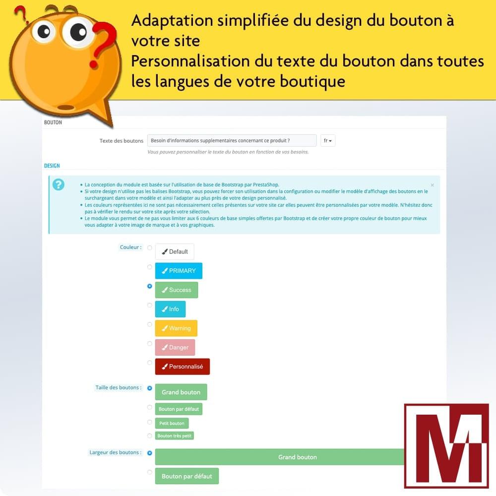 module - Formulaires de Contact & Sondages - Formulaire de contact dynamique sur page produit - 5
