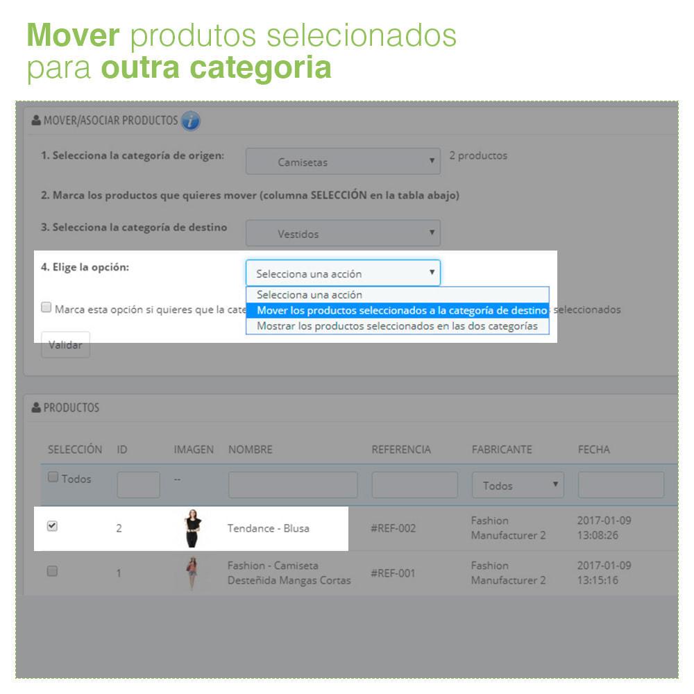 module - Administração - Mover e associar produtos entre categorias em massa - 4