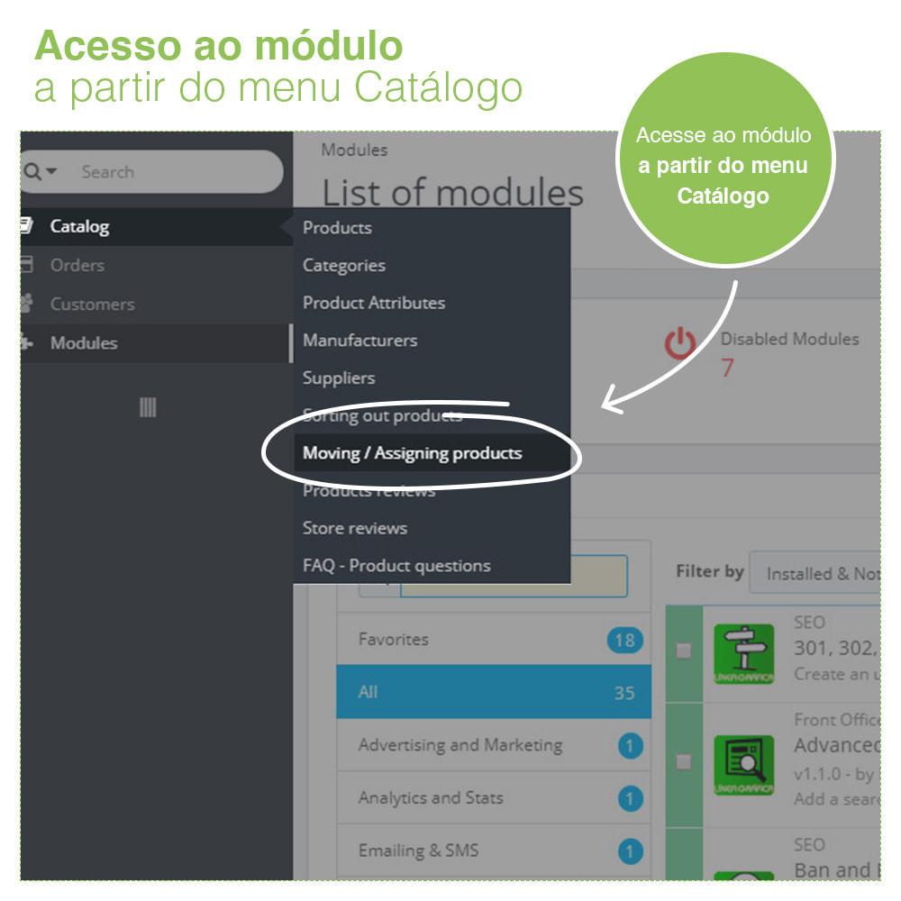 module - Administração - Mover e associar produtos entre categorias em massa - 8