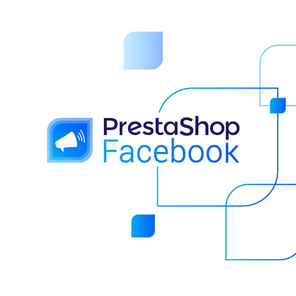 module - Товаров в социальных сетях - PrestaShop Facebook - 1
