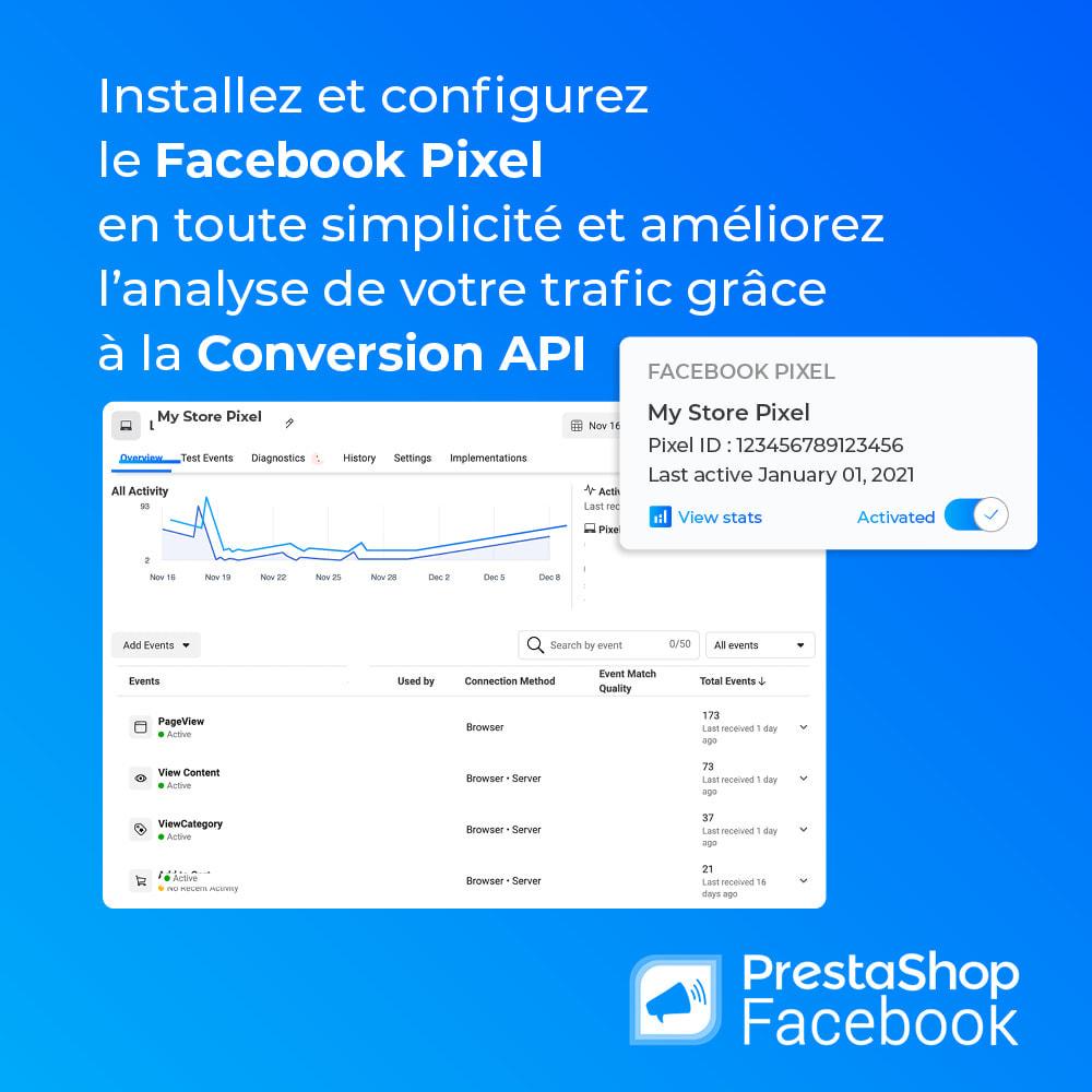 module - Produits sur Facebook & réseaux sociaux - PrestaShop Facebook - 2