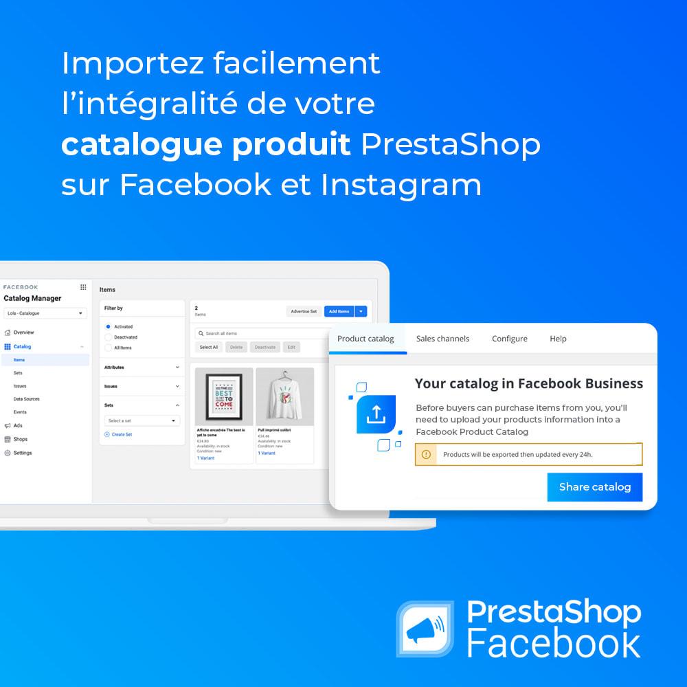 module - Produits sur Facebook & réseaux sociaux - PrestaShop Facebook - 3