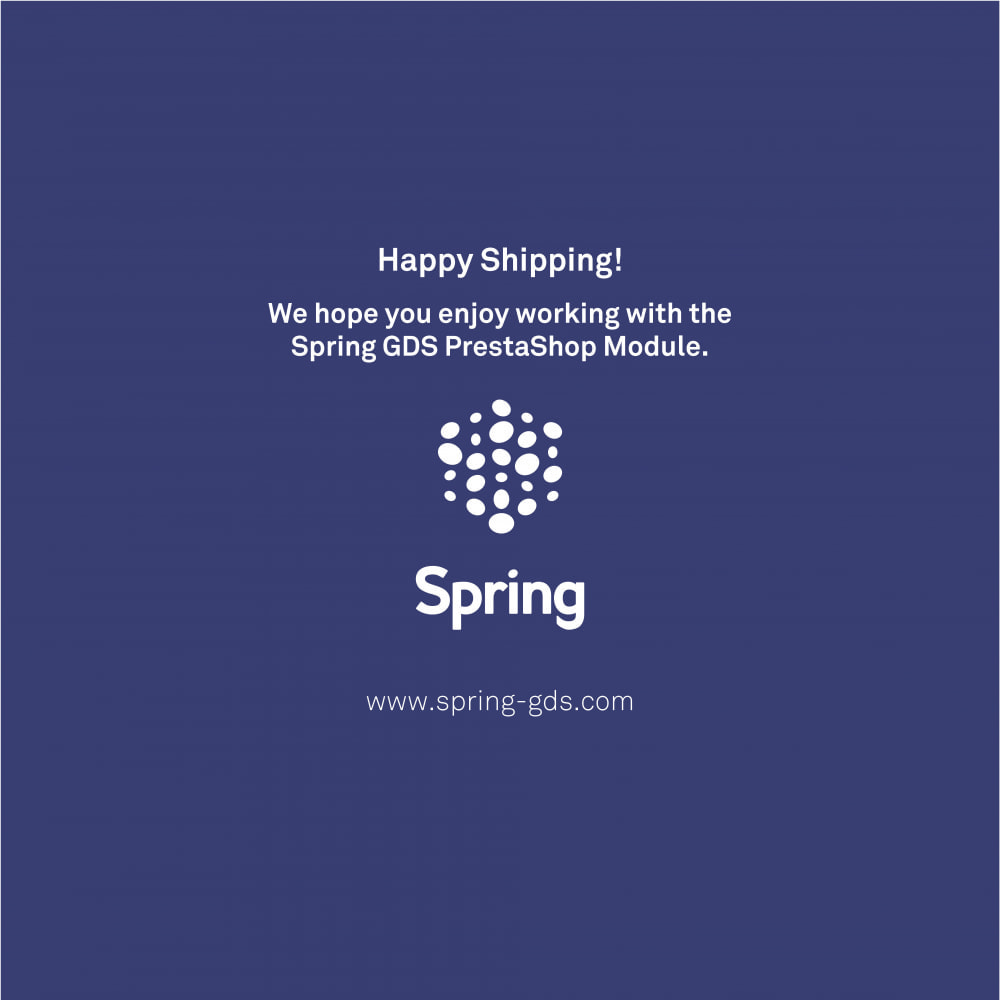 module - Transportadoras - SPRING GDS - Worldwide delivery solutions - 7