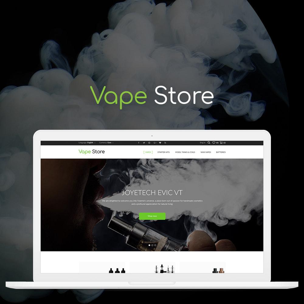 theme - Eletrônicos & High Tech - Vape store - 1