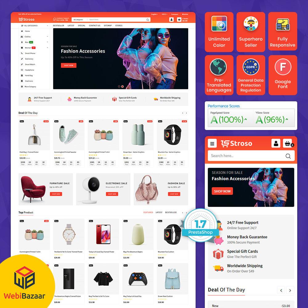 theme - Eletrônicos & High Tech - Stroso - The Mega Store - 1