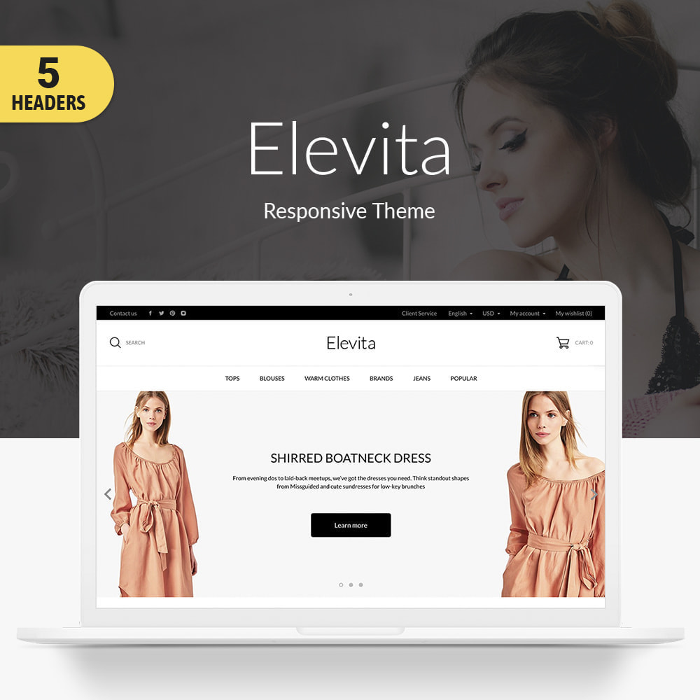 theme - Мода и обувь - Elevita Fashion Store - 1