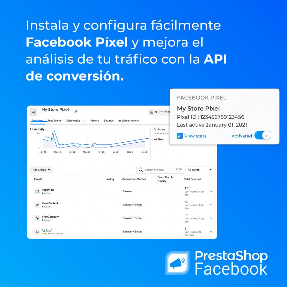module - Productos en Facebook & redes sociales - PrestaShop Facebook - 2