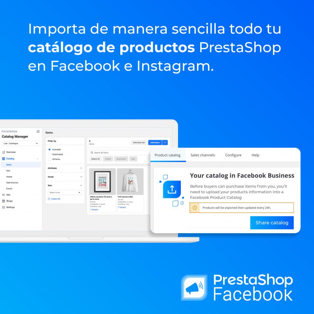 module - Productos en Facebook & redes sociales - PrestaShop Facebook - 3