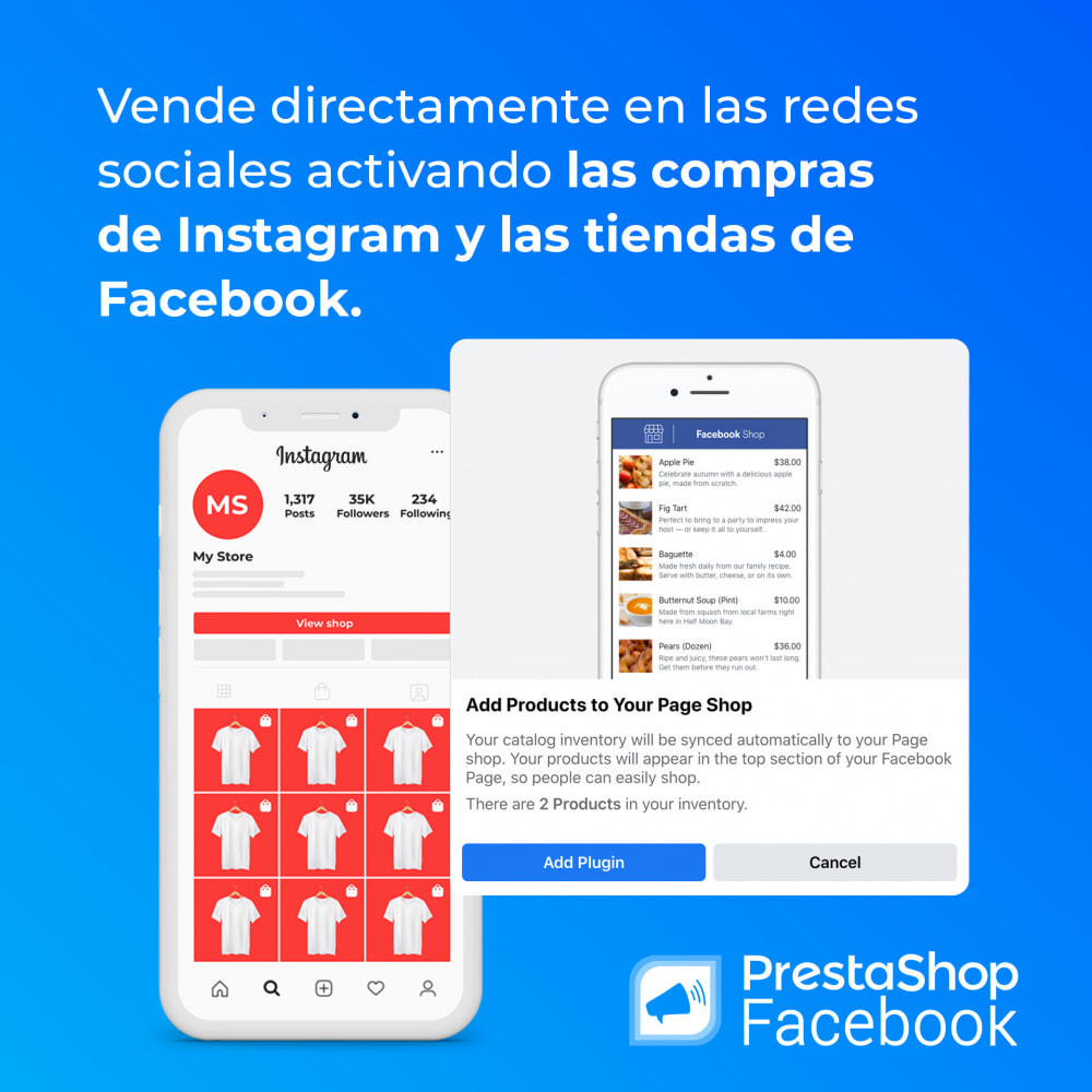 module - Productos en Facebook & redes sociales - PrestaShop Facebook - 5