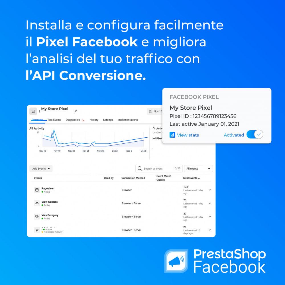 module - Prodotti sui Facebook & Social Network - PrestaShop Facebook - 2