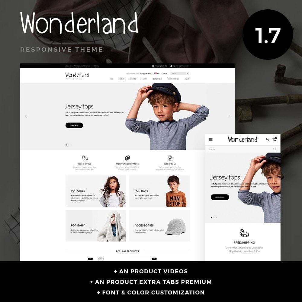theme - Kinder & Spielzeug - Wonderland - 1