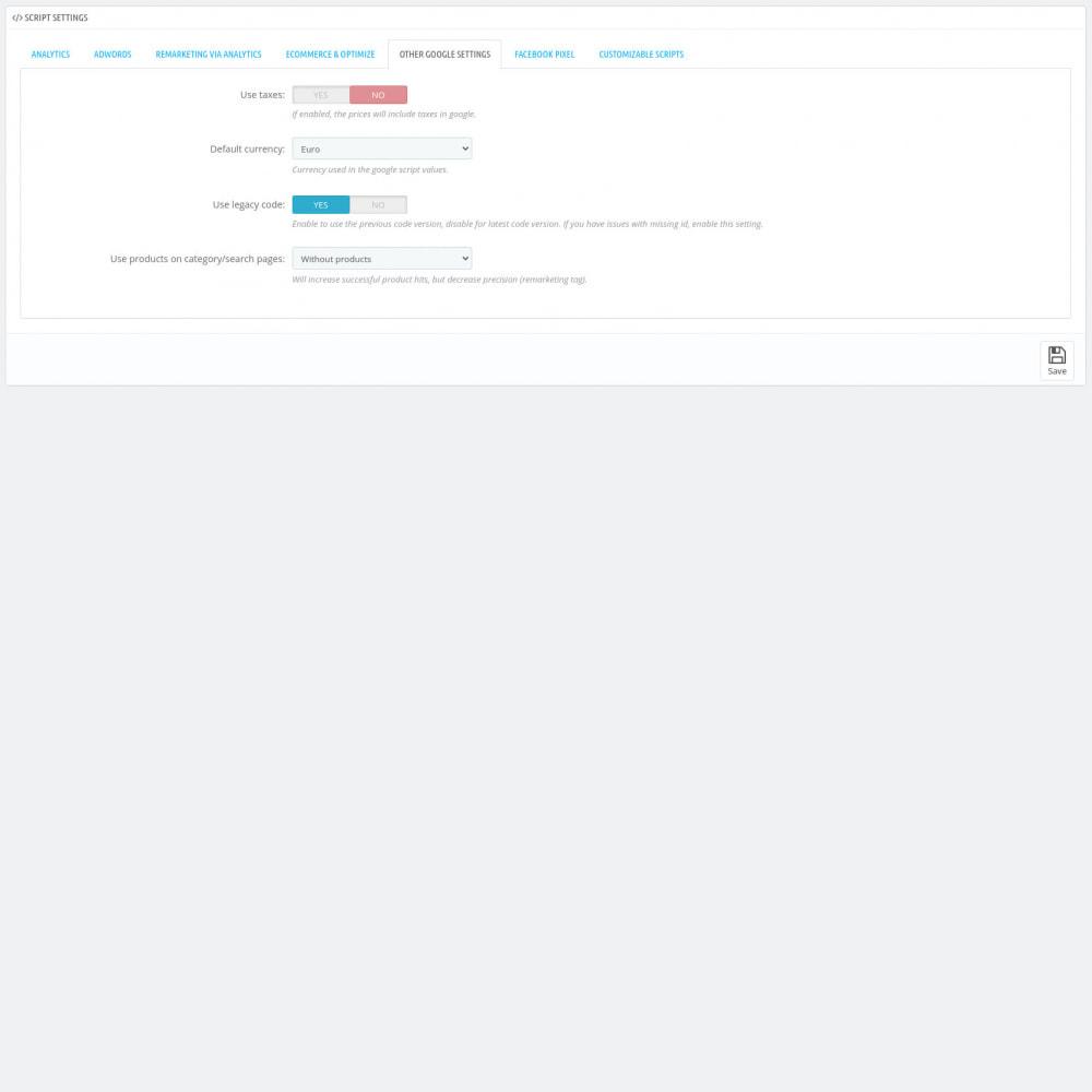 module - Analytics & Statistiche - Script Manager Pro (Customizable Scripts, APIs & GDPR) - 8
