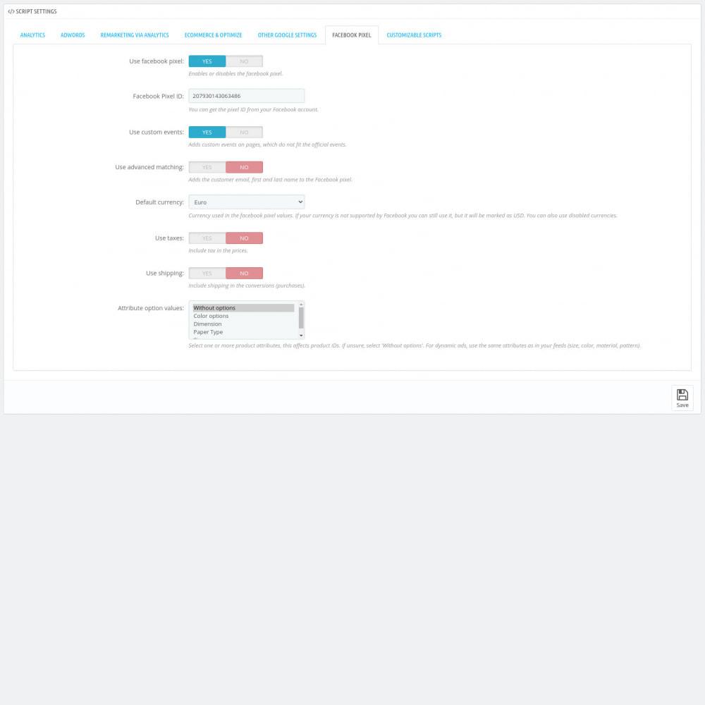 module - Analytics & Statistiche - Script Manager Pro (Customizable Scripts, APIs & GDPR) - 9