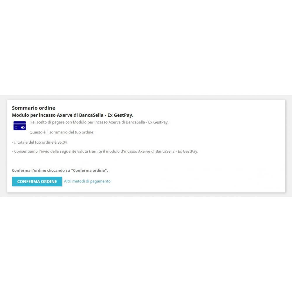 module - Pagamento por cartão ou por carteira - Payment gateway Axerve Banca Sella - Ex GestPay - 3