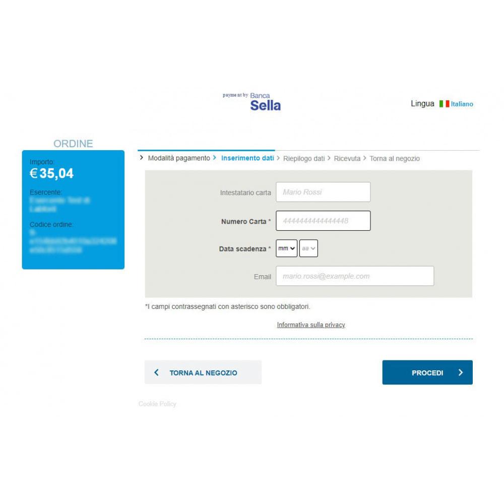 module - Pagamento por cartão ou por carteira - Payment gateway Axerve Banca Sella - Ex GestPay - 4