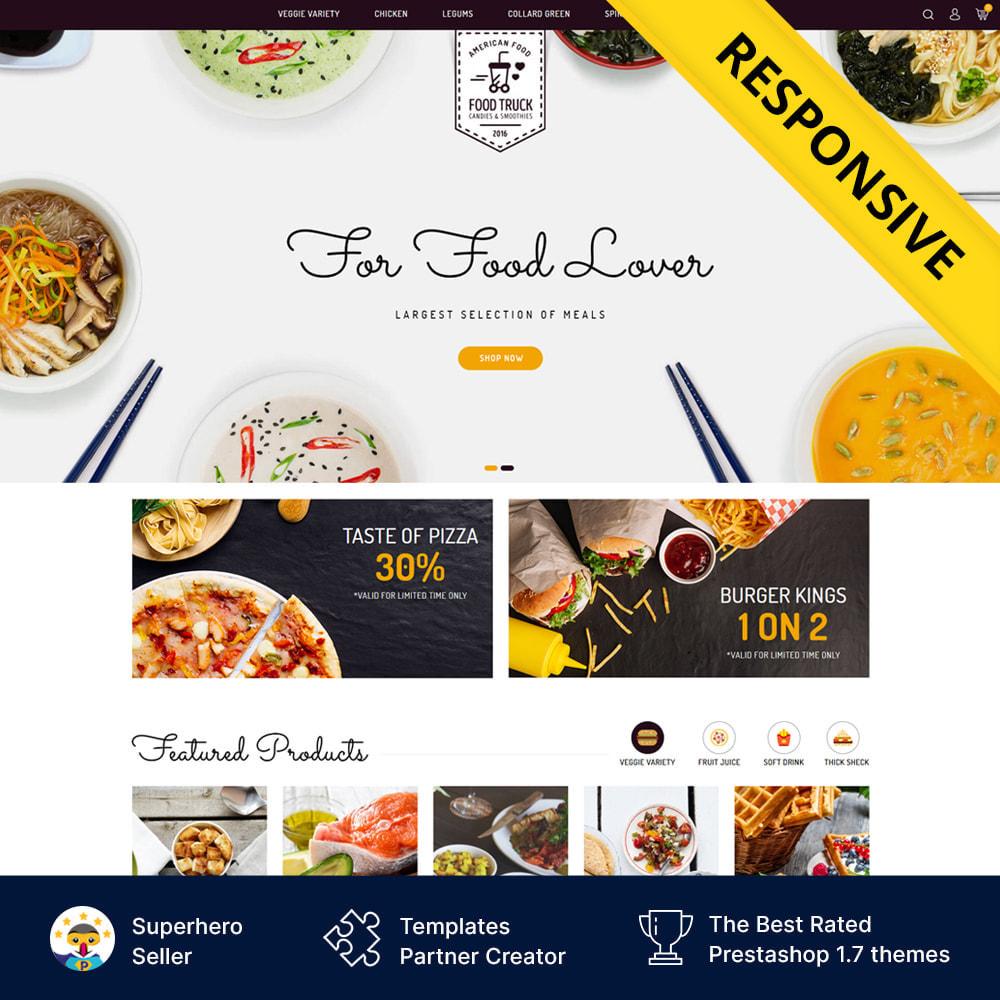 theme - Alimentation & Restauration - Food Truck - Restaurant & Food Store - 1