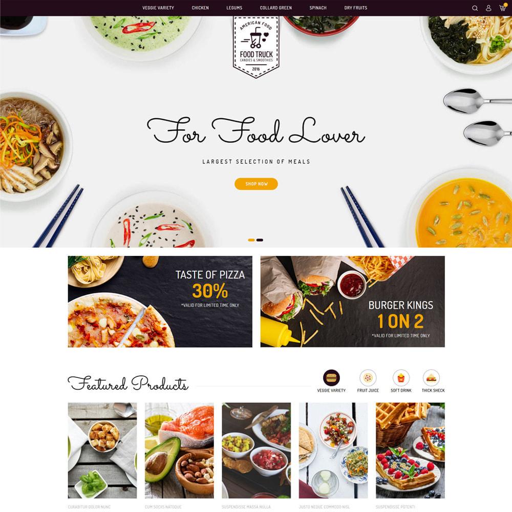 theme - Alimentation & Restauration - Food Truck - Restaurant & Food Store - 2