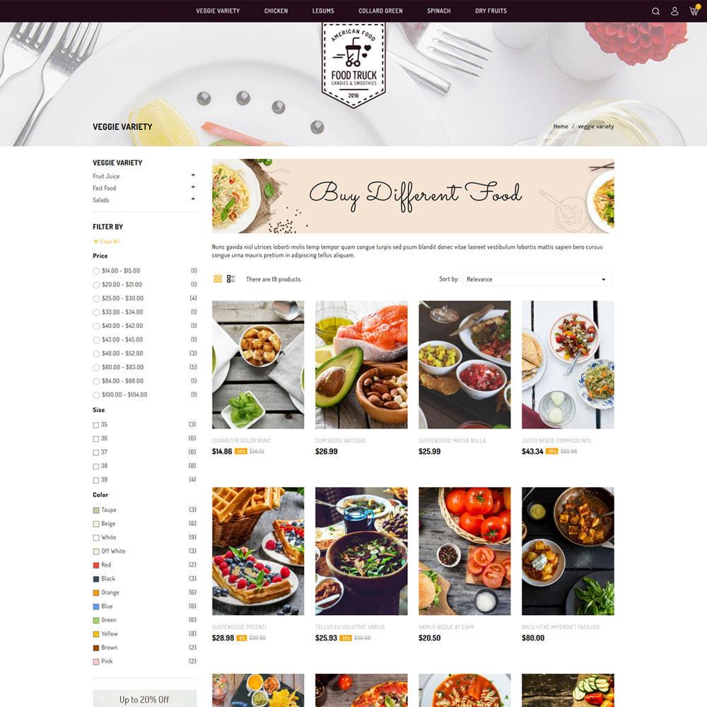 theme - Alimentation & Restauration - Food Truck - Restaurant & Food Store - 3