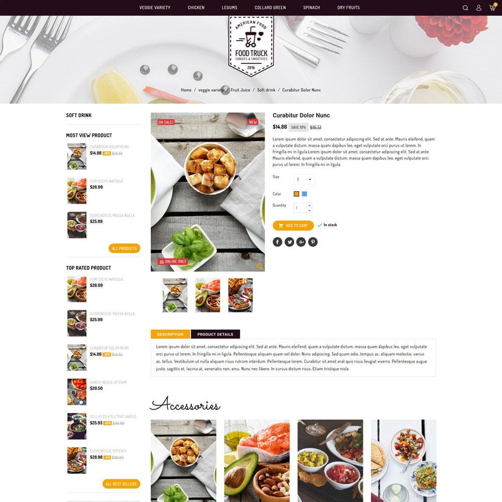 theme - Alimentation & Restauration - Food Truck - Restaurant & Food Store - 4