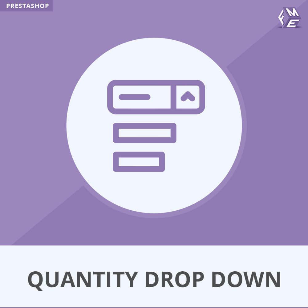 module - Gestión de Stock y de Proveedores - Quantity Drop Down - 1