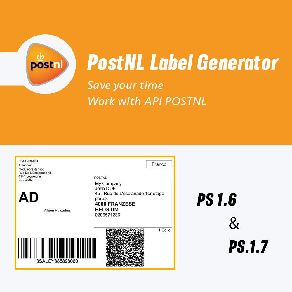 module - Voorbereiding & Verzending - PostNL Label Generator - 1