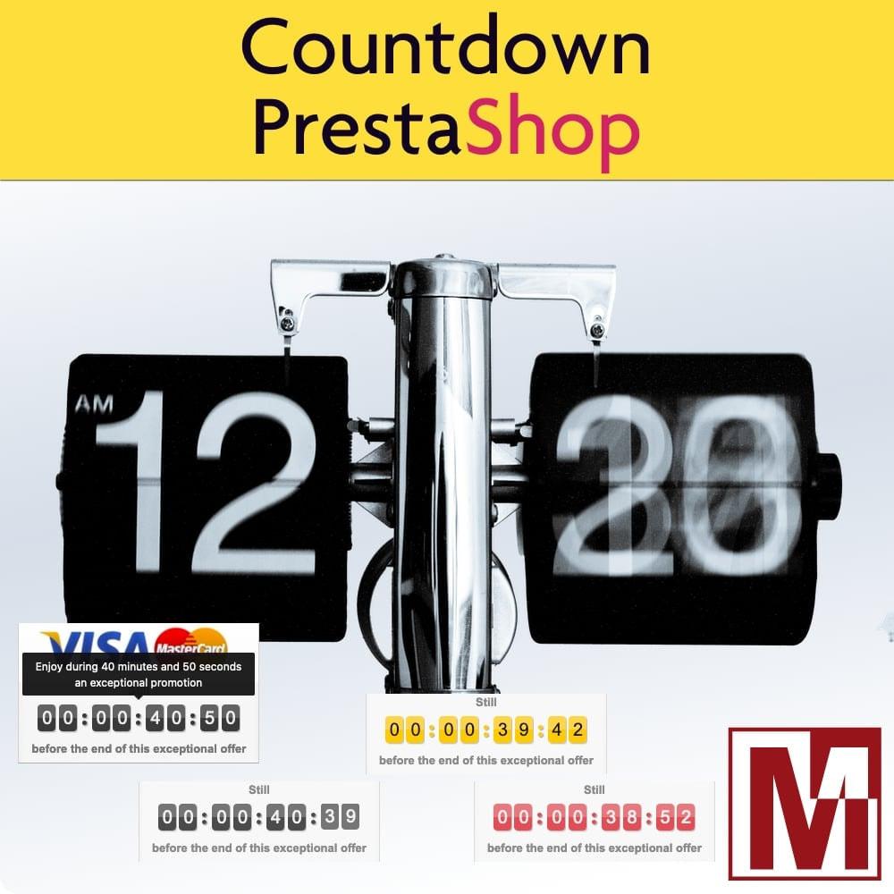 module - Ventas Privadas y Ventas Flash - Perfect Countdown - 1