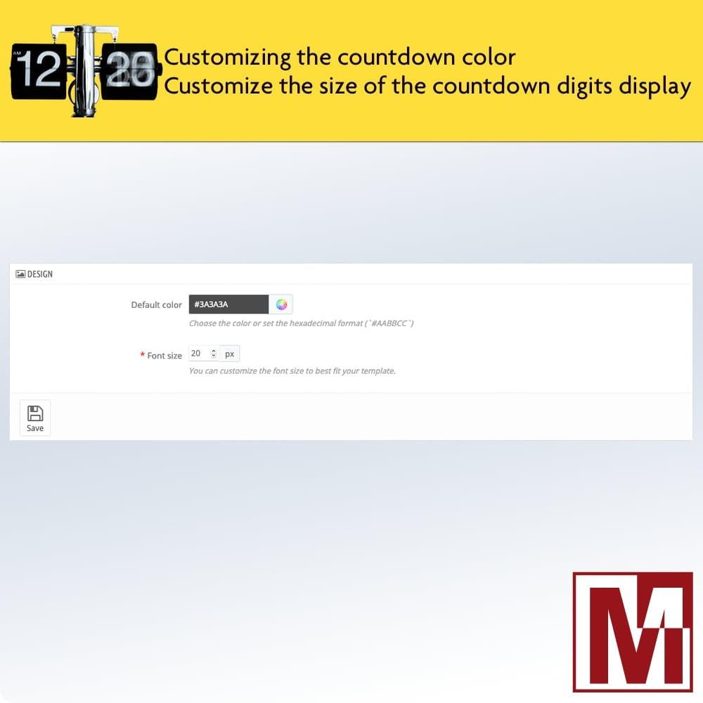 module - Ventas Privadas y Ventas Flash - Perfect Countdown - 3