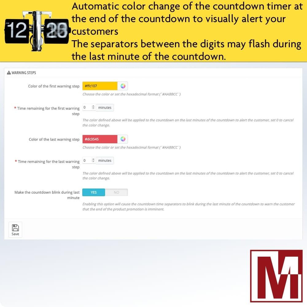 module - Ventas Privadas y Ventas Flash - Perfect Countdown - 4