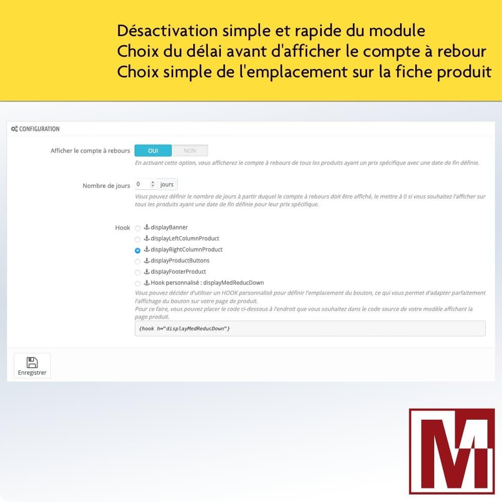 module - Ventes Flash & Ventes Privées - Compte à rebours parfait - 2