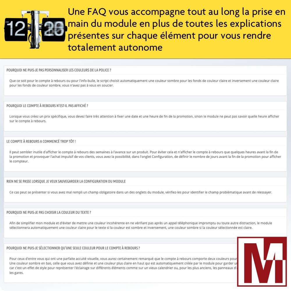 module - Ventes Flash & Ventes Privées - Compte à rebours parfait - 7