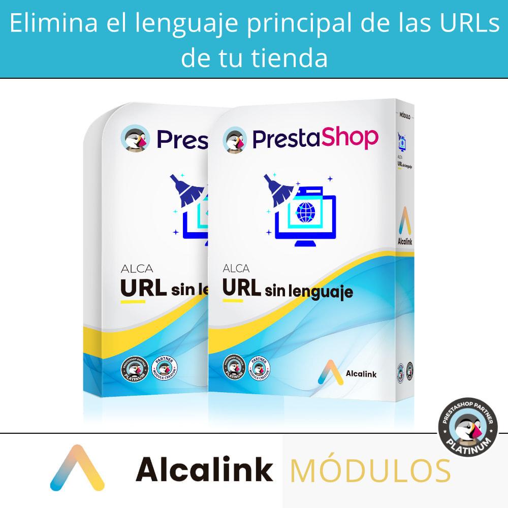module - URL y Redirecciones - Eliminar lenguaje principal de URL - SEO - 1