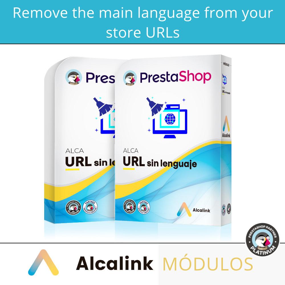 module - URL & Omleidingen - Remove main language URL - SEO - 1