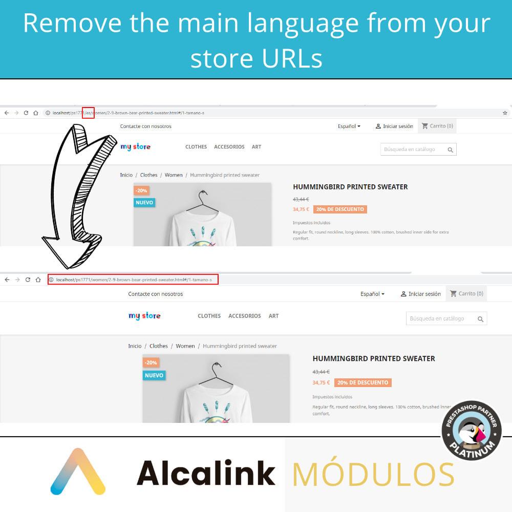 module - URL & Omleidingen - Remove main language URL - SEO - 2