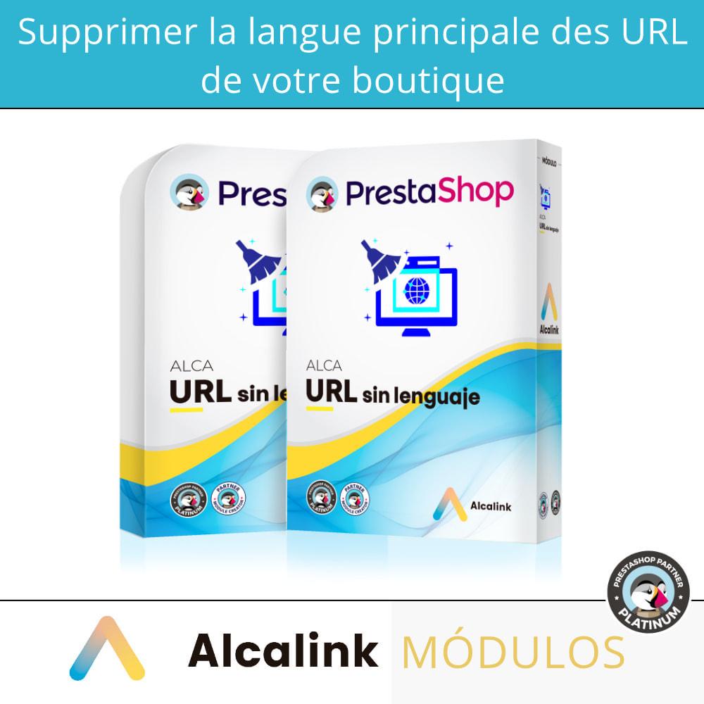 module - URL & Redirections - Supprimer la langue hôte de l'URL - SEO - 1