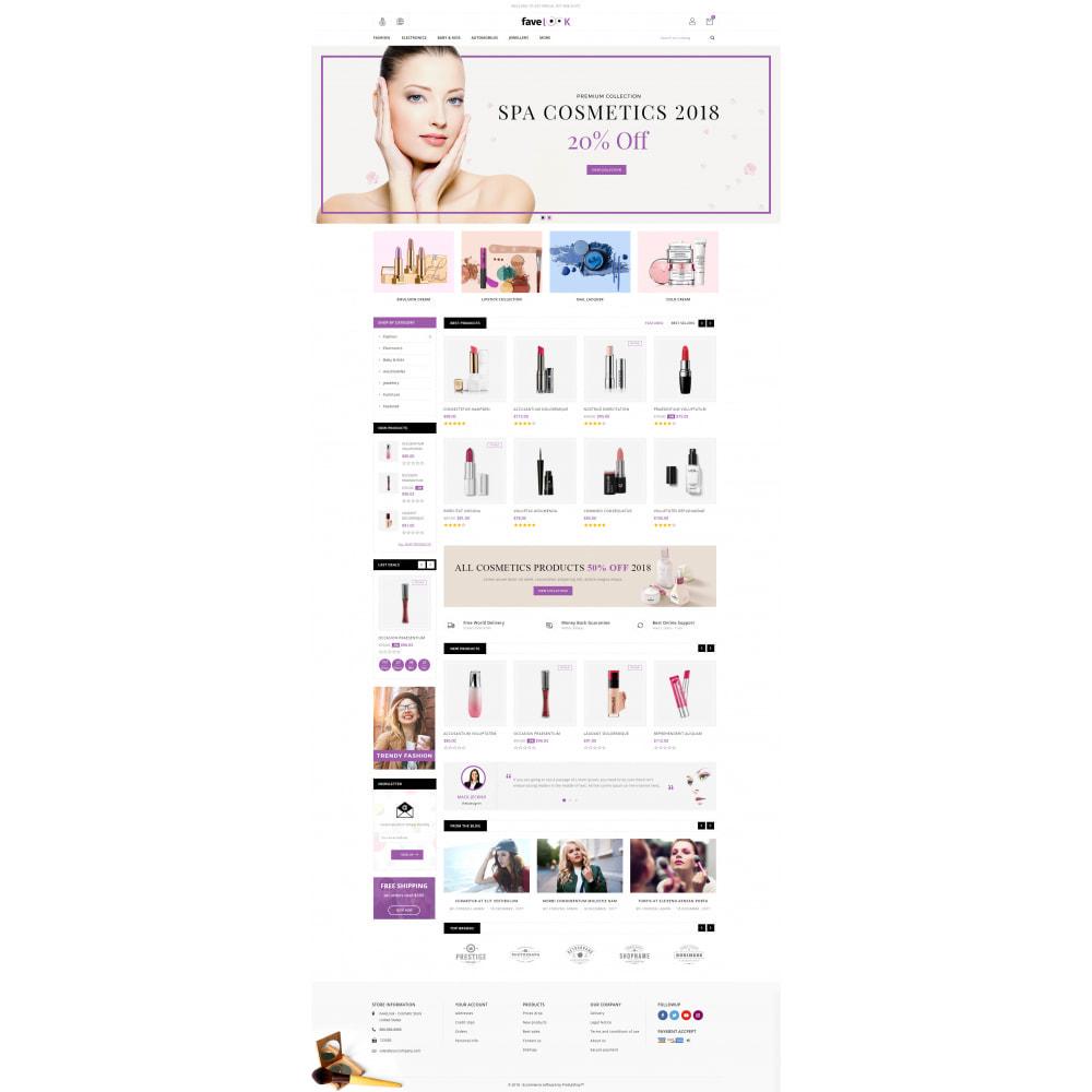 theme - Health & Beauty - Favelook - Beauty Store - 2