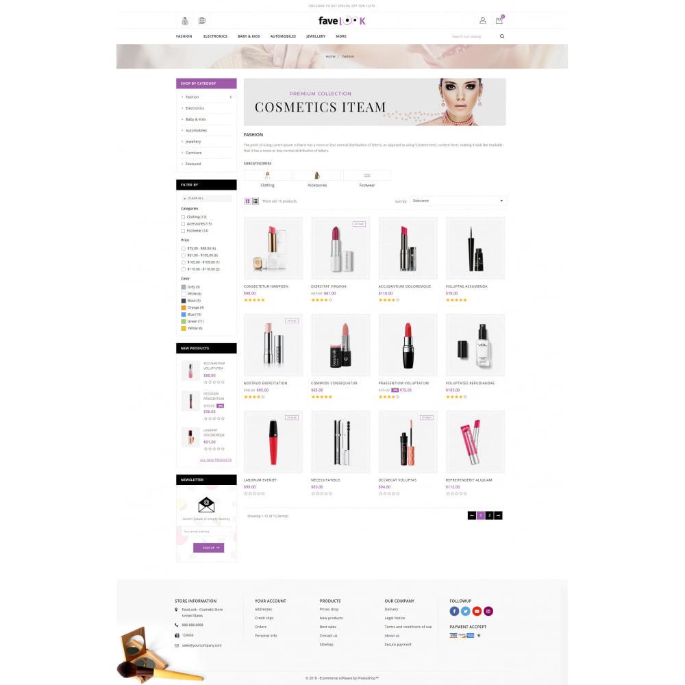 theme - Health & Beauty - Favelook - Beauty Store - 3