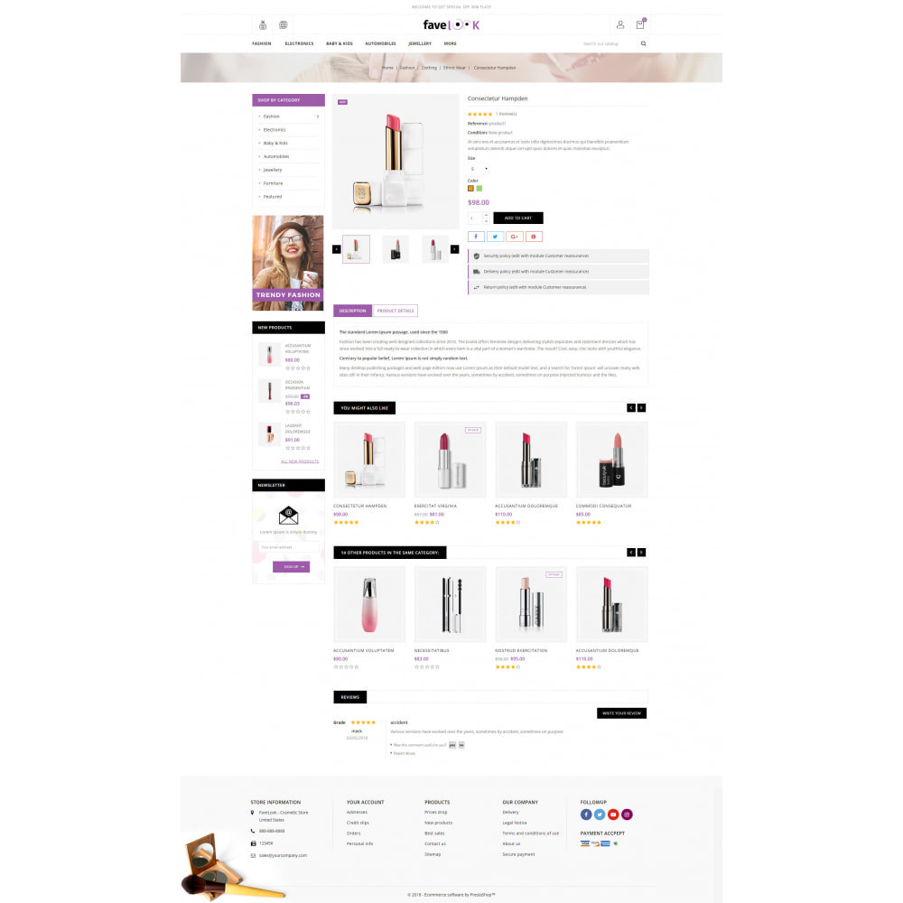 theme - Health & Beauty - Favelook - Beauty Store - 5