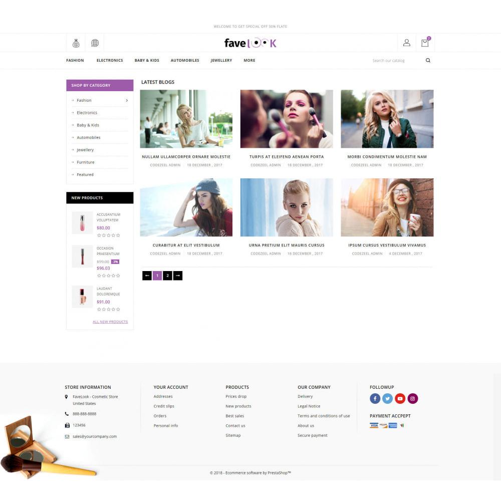 theme - Health & Beauty - Favelook - Beauty Store - 9