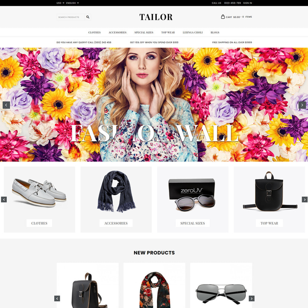 theme - Moda & Calçados - Tailor Fashion Store - 2
