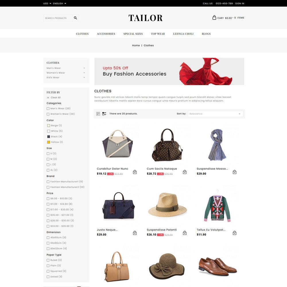 theme - Moda & Calçados - Tailor Fashion Store - 3