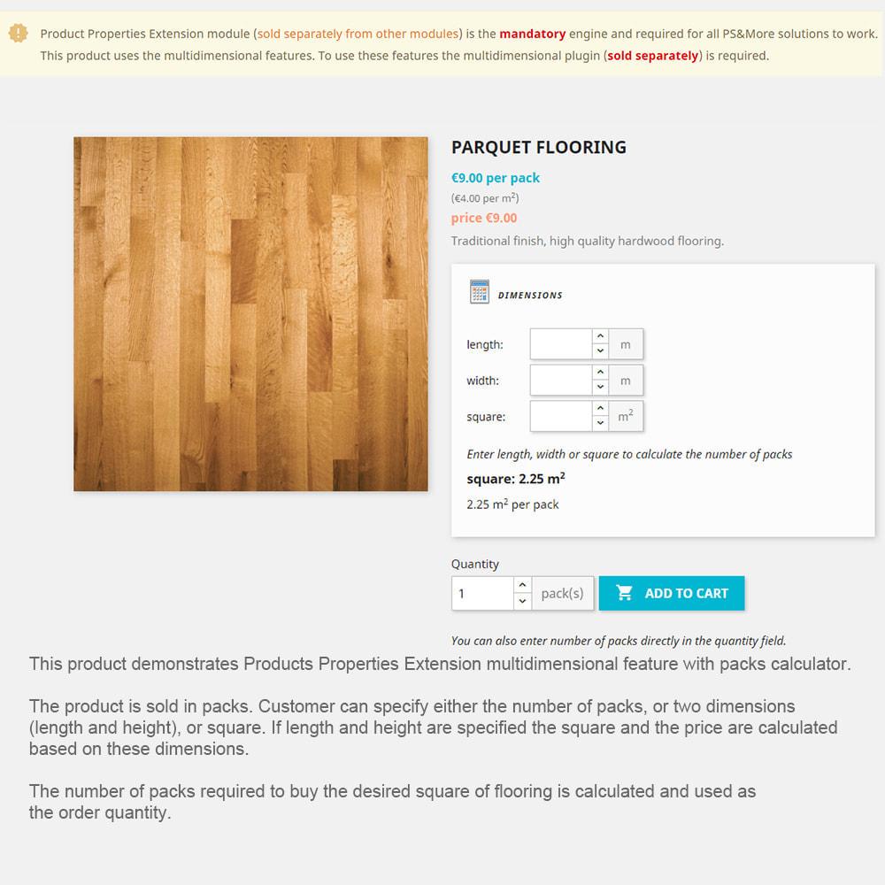 module - Omvang en eenheden - Product Properties Extension-sell by weight, length,etc - 6
