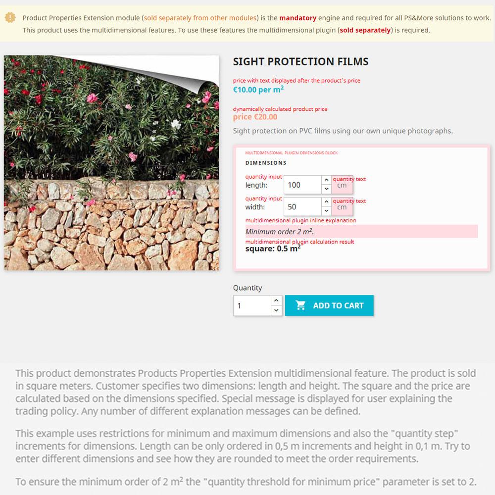 module - Размеры - Product Properties Extension Multidimensional Basic - 6