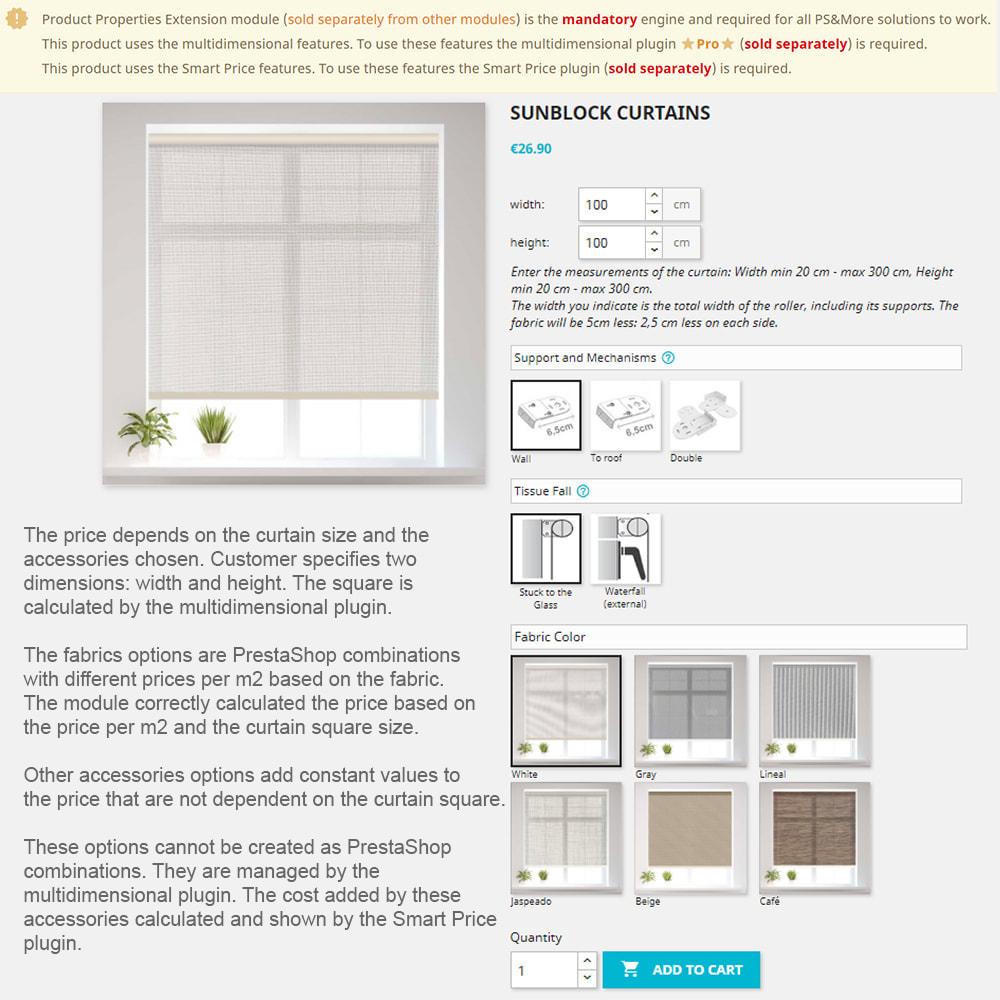 module - Размеры - Product Properties Extension Multidimensional Basic - 10