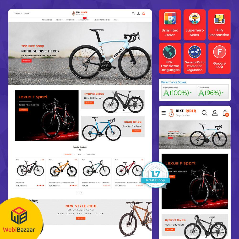 theme - Sport, Activiteiten & Reizen - Bike Ryder - Bike Shop & Bicycle Rental Shop - 10