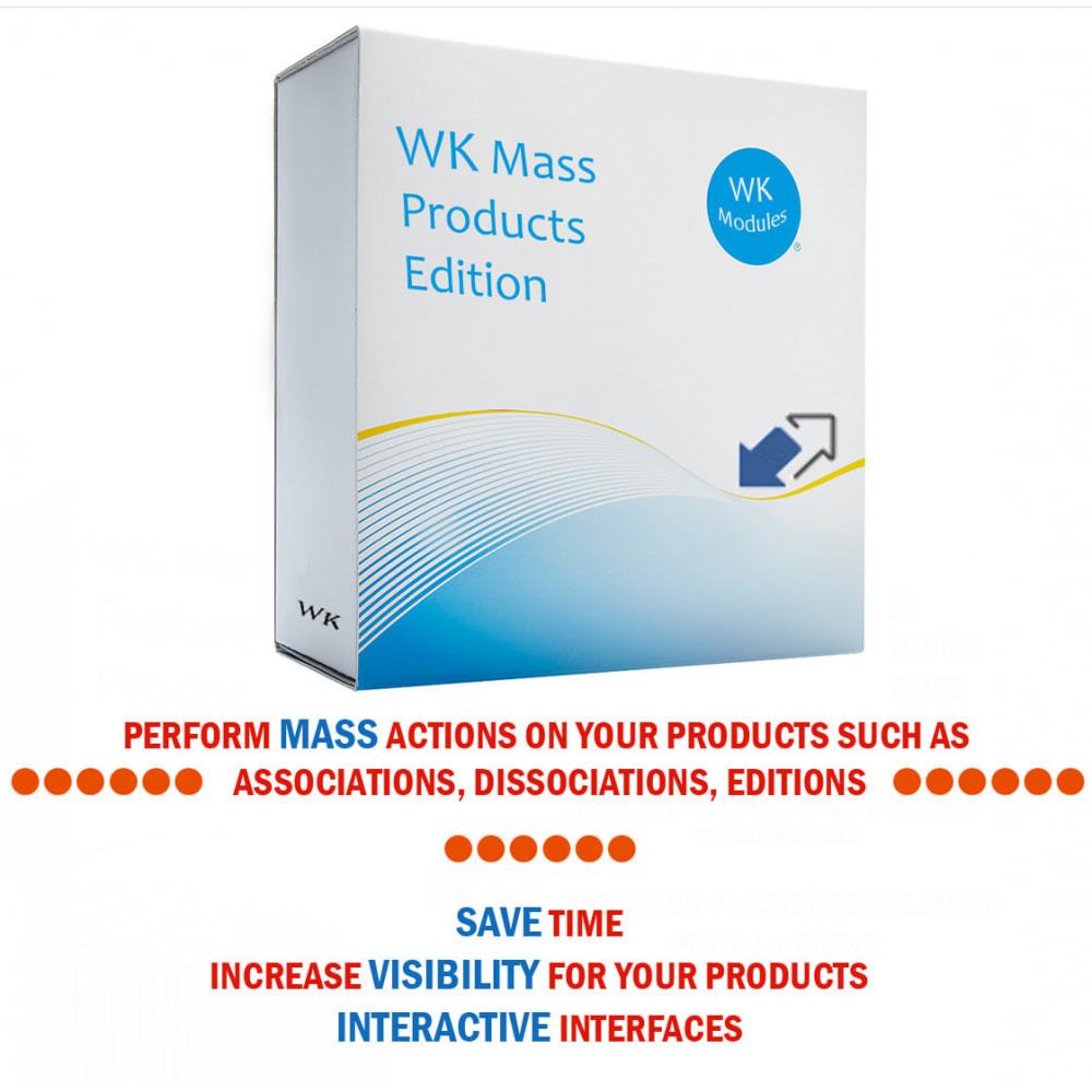 module - Szybkie & Masowe edytowanie - WK Mass Products Edition - 1