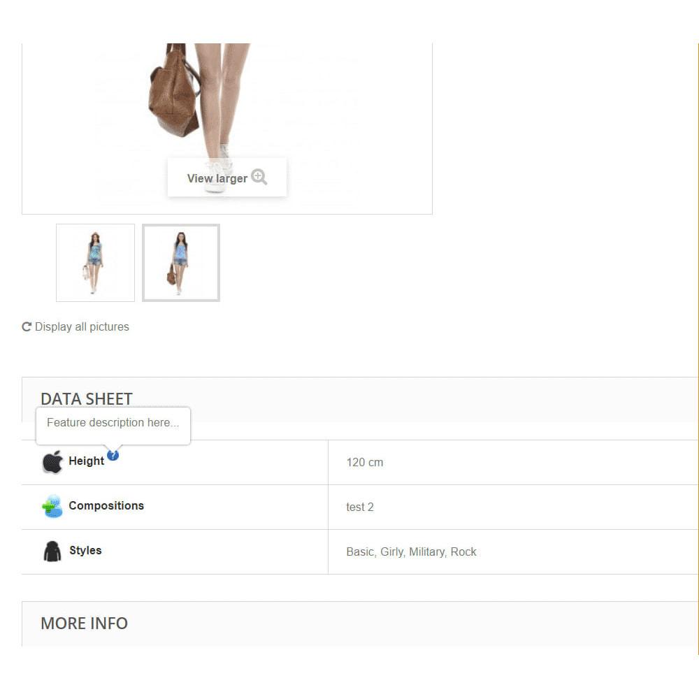 module - Emblemas e logotipos - Product features icons - 3