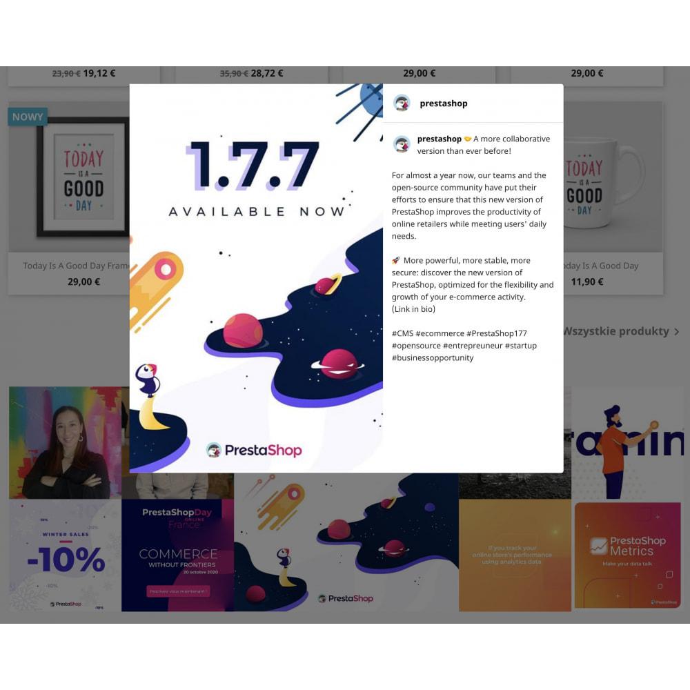 module - Produkty w serwisach społecznościowych - Insta Feed - zdjęcia z instagrama w Twoim sklepie - 7