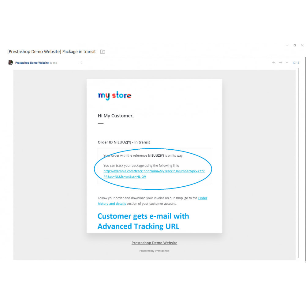 module - Tracciamento Spedizione - Advanced Tracking URL - 3