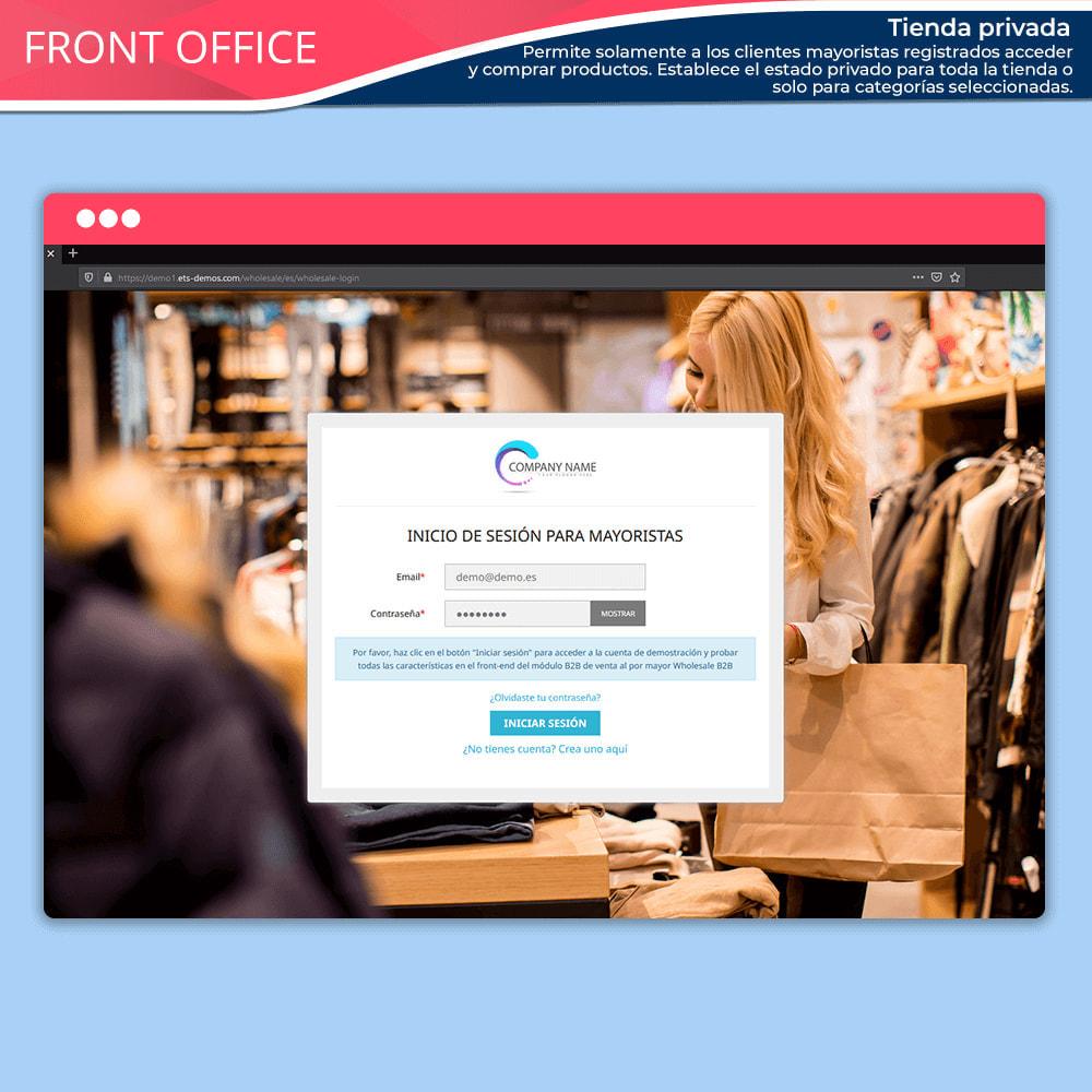 module - Ventas Privadas y Ventas Flash - Wholesale B2B: Plataforma experto de venta al por mayor - 4